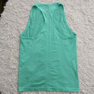Lululemon teal swiftly tech tank 8